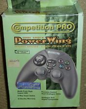 Sony Playstation 1 PS1 controlador analógico dual Psone negro de la almohadilla de control de juego en caja