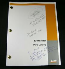 CASE 821B Wheel Loader Tractor Parts Manual Catalog Book List 8-9392 OEM