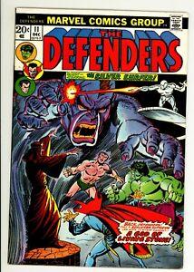Defenders 11 - vs Silver Surfer - High Grade 9.0 VF/NM