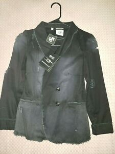 DROP DEAD CLOTHING Bring Me the Horizon BMTH Oliver Sykes RARE BLACK JACKET