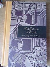 Mindfulness at work hardback book - brand new