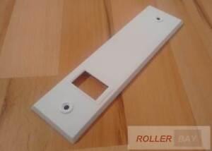 Rolladen Gurtwickler Blende Deckplatte alle Größen Rollladen Abdeckplatte
