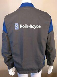 ROLLS ROYCE Service Team Jacket LARGE Factory Crew Work Wear Coat RARE PHANTOM L