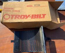 New Troy-Bilt Tomahawk Chipper Shredder Screen 11529K 10 Inch Wide 3/8 In Hole