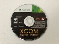 XCOM: Enemy Within - Xbox 360 - Cleaned & Tested