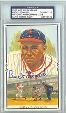 Buck Leonard 2012 Historic Autograph Company Art Of Baseball Auto/Autograph /28