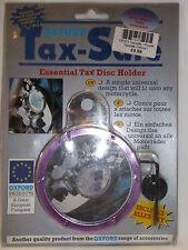 Impuesto seguro-los productos de Oxford color púrpura redonda titular de disco de impuestos-BC12375-T