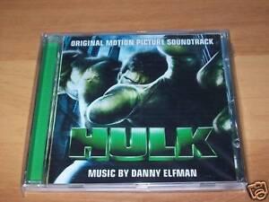 CD-COLONNA SONORA-HULK-DANNY ELFMAN-UNIVERSAL STUDIOS