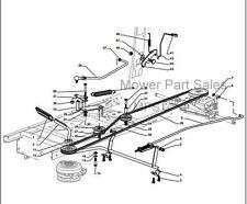 Transmission Drive Belt Castel Garden XD140, SD98, Mountfield 1438M, 1538M T38