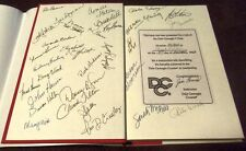 DALE CARNEGIE'S SCRAPBOOK HC/DJ SIGNED BY 1993 CLASS + INSTRUCTOR SPECIAL AWARD