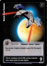 Star Wars Jedi Knights Scum and Villainy TCG 12C Arakyd Laser Cannons First Day