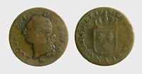 s533_56) France Louis XVI - 1  SOL 1791 A