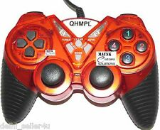 New Quantum USB Game Pad with Turbo Function Model QHM7487-2V-C +Bill Gamepad