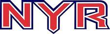 NEW YORK NY RANGERS Logo ~ Window WALL DECAL * Vinyl Car STICKER ~ ANY COLORS