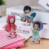 Anime Demon Slayer Kimetsu no Yaiba Acrylic Desk Stand Figures Models Decor Gift