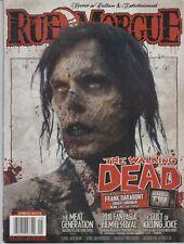 RUE MORGUE MAGAZINE No.104 The Walking Dead EX CONDITION