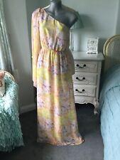 Top Shop maxi ,one Shoulder dress.Size 8