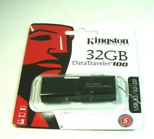 Kingston DT100 G3 32GB  Data Traveler 100 USB 3.0 Flash Pen Drive Memory Stick