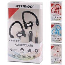 Auricolari con filo Cuffie Gancio Jack 3,5mm Android iPhone Corsa Musica Sport