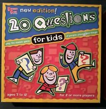 20 QUESTIONS FOR KIDS - UNIVERSITY GAMES - BOARD GAME - Family Fun Night!