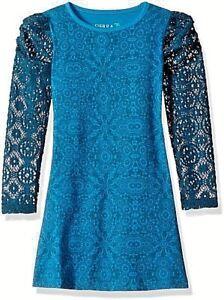 NWT SIERRA JULIAN sizes 5-8-10  Girls Novana Lace Sleeve Tee~shirt Dress