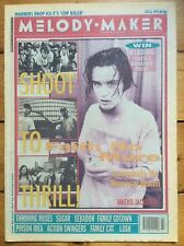 Melody Maker 8/8/92 Faith No More cover, Throwing Muses, Sugar, Sebadoh