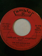 """RARE ORGAN MOD 45/ THE DON BASHAM DUO """"MORE AND BETTER MOUSETRAP""""    HEAR"""