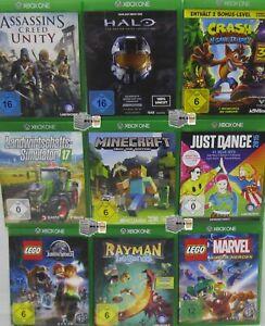 XBOX ONE Spiele Sammlung - nur 1 Spiel auswählen - Minecraft Halo Rayman FIFA ..