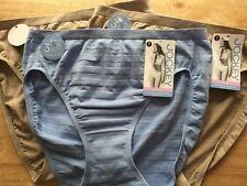 JOCKEY ~ Comfie Matte Shine HI CUT ~ Women's Underwear Panty ~ Sz 7 ~ Style 1306