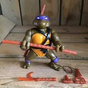TMNT   Donatello   Series 1   Playmates   1988   Loose With Weapons