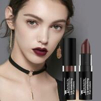 Lip Gloss Makeup Lip Matte Lipstick Long Lasting Waterproof Halloween Dark I7J2