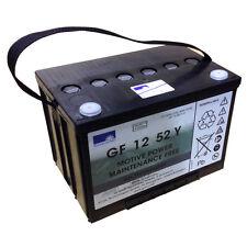 EXIDE GF Sonnenschein Batteria GEL Dryfit Traction BLOCCHI GF 12 52 Y 12V 52Ah