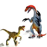 Large Therizinosaurus + Oviraptor Jurassic Dinosaurs Toys Model Best Kids Gift