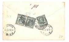 Italian Cover Middle Eastern Stamps