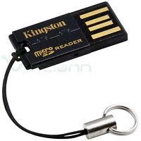 Lettore scheda memoria USB MicroSD micro sd flash KINGSTON memory card reader