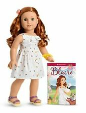 American Girl Blaire Wilson 18 inch Doll with Book