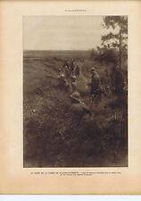 Guerre 1914 1918 Au nord de la forêt de Villers-Cotterets les Zouaves