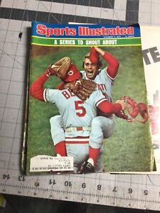 Vintage Rare! Sports illustrated magazine Cincinnati Reds baseball Pete Rose