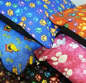 LARGE & Extra Large Dog Bed -Pet Washable Zipped Mattress Cushion Luxury