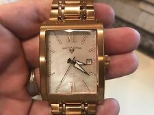 Swiss Legend Men's Rose Gold Tone 30112-RG Automatic Mother Of Pearl Dial