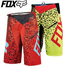 Fox Demo DH Cauz MTB Cycling Shorts 2016 - Yellow Red - 32, 34, 36, 38