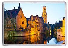 Bruges Belgium Fridge Magnet Free Postage