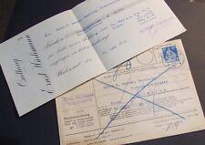 Schweiz Ganzsache Einzugsmandat,  Postverwaltung 1923 mit Quittung Einschreiben