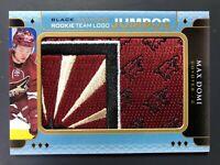2015-16 Black Diamond Rookie Team Logo Jumbos Max Domi