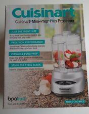 New Cuisinart Mini-Prep Plus4-Cup Food Processor Stainless Steel CGC-4PC5