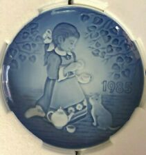 "Children's Day Plate by Bing & Grondahl, ""The Magical Tea Party"" 1985"