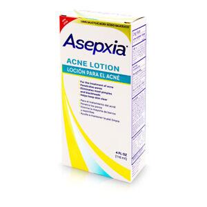 ASEPXIA ACNE LOTION 4 fl oz PIMPLES & BLACKHEADS / LOCION BARROS ESPINILLAS