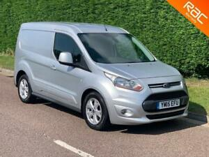 """2015 """"15"""" FORD TRANSIT CONNECT 1.6 TDCI (115 BHP) LIMITED L1 (NO VAT)"""