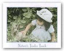 Nature's Tender Touch Kathy Klammer African American Art Print 16x20