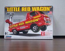 "Bill Maverick Golden Dodge ""Little Red Wagon""  1:25 scale Lindberg Kit"